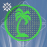 Icon depicting Palm Tree Projection.
