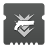 Icon depicting Hand Cannon Ammo Finder.