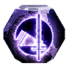 Icon depicting Pyramid-Focused Umbral Engram.