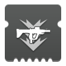 Icon depicting Submachine Gun Ammo Finder.