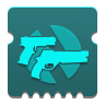 Icon depicting Overload Rounds (Sidearms and Hand Cannons).