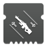 Icon depicting Machine Gun Dexterity.