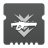 Icon depicting Linear Fusion Rifle Ammo Finder.