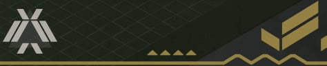 How Emblem of the Worthy looks in the Fireteam menu.