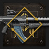 Icon depicting Repeatable Seraph Bounty: Auto Rifle.