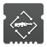 Icon depicting Machine Gun Loader.