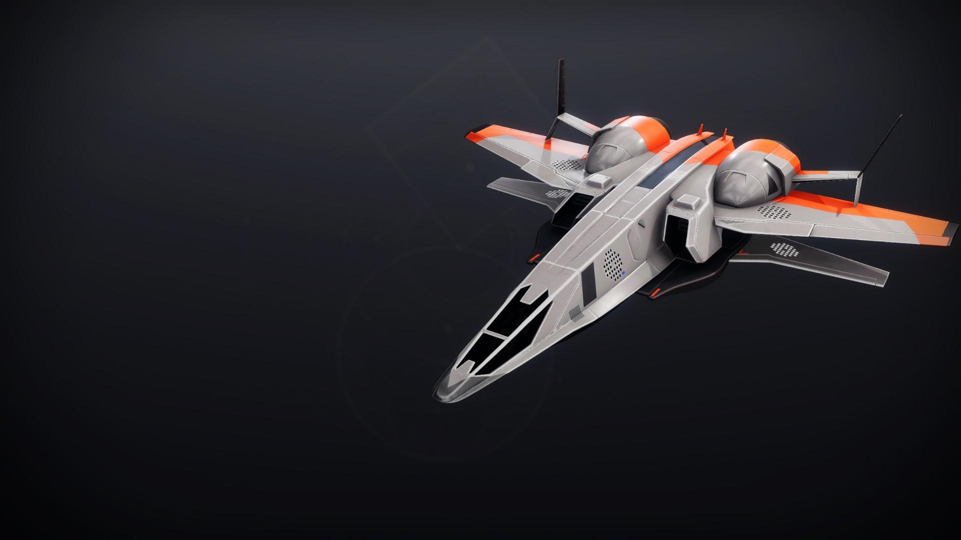 An in-game render of the Metropolitan Frigate.