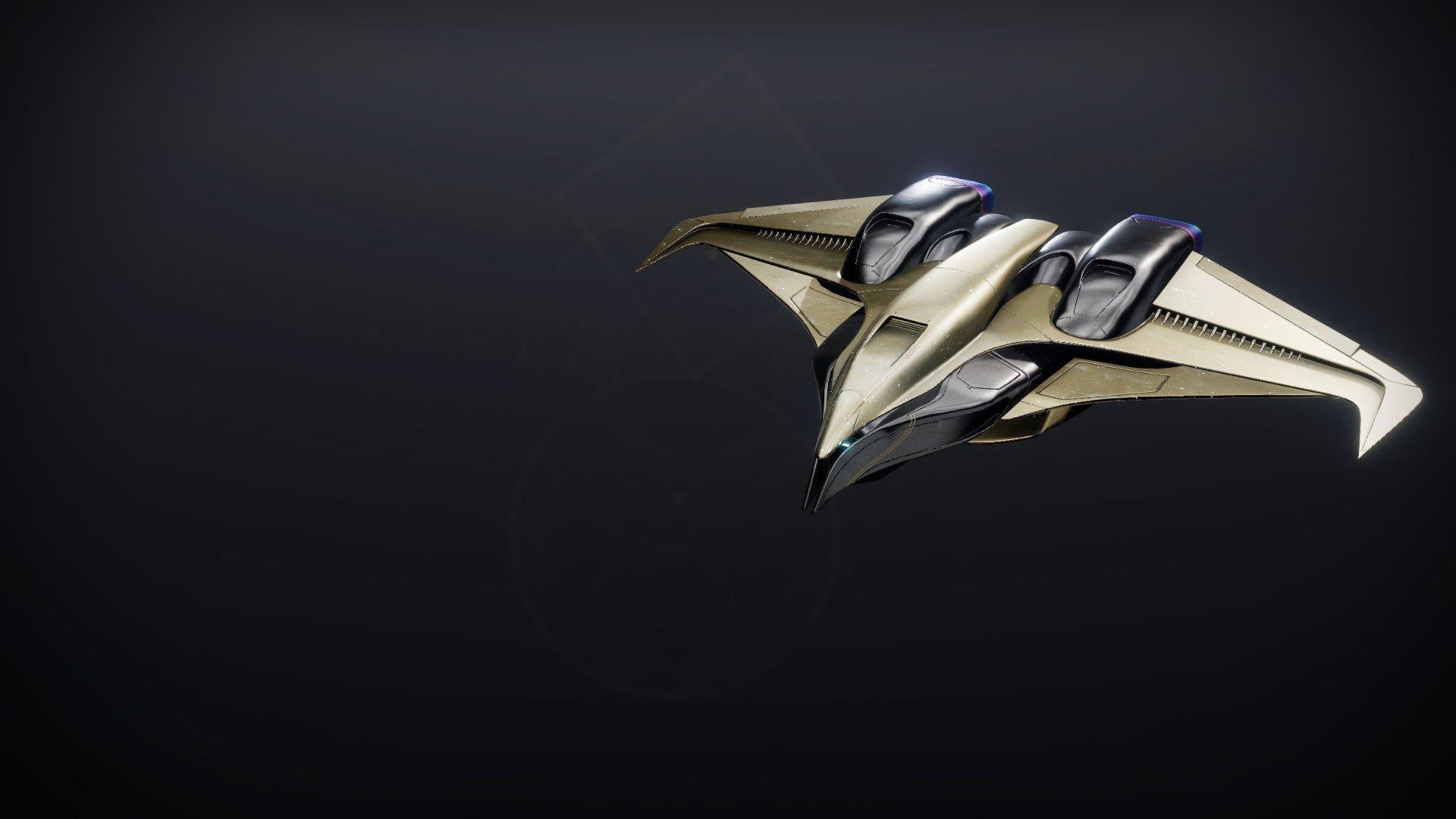 An in-game render of the Celestial Kestrel.