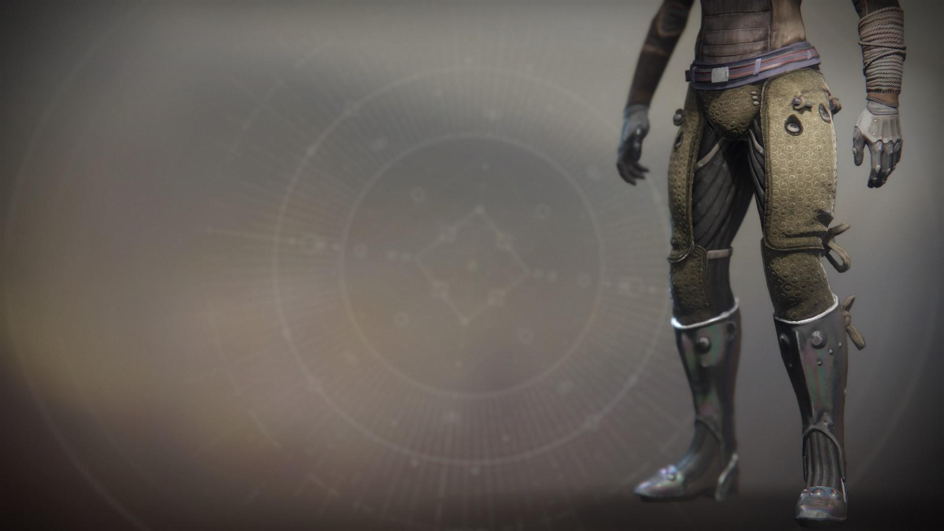 An in-game render of the Boots of Feltroc.