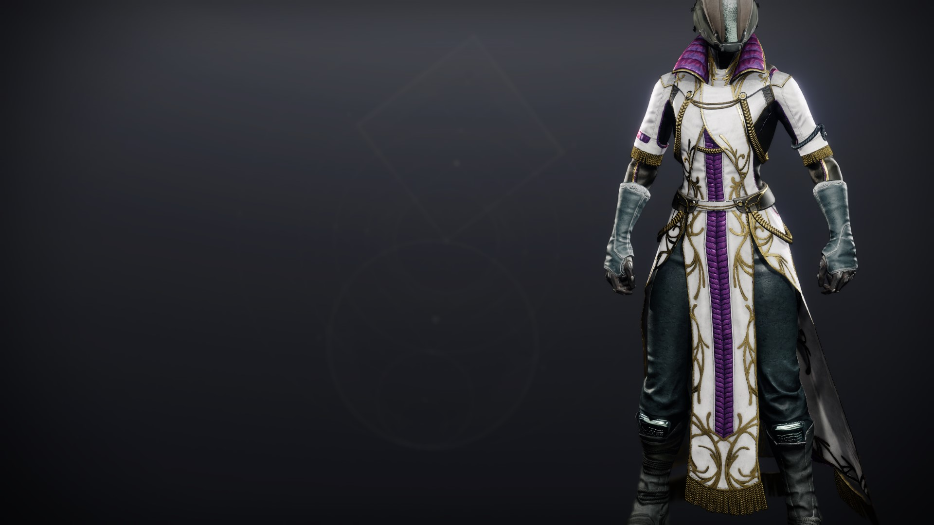 An in-game render of the Celestine Robes (Majestic).