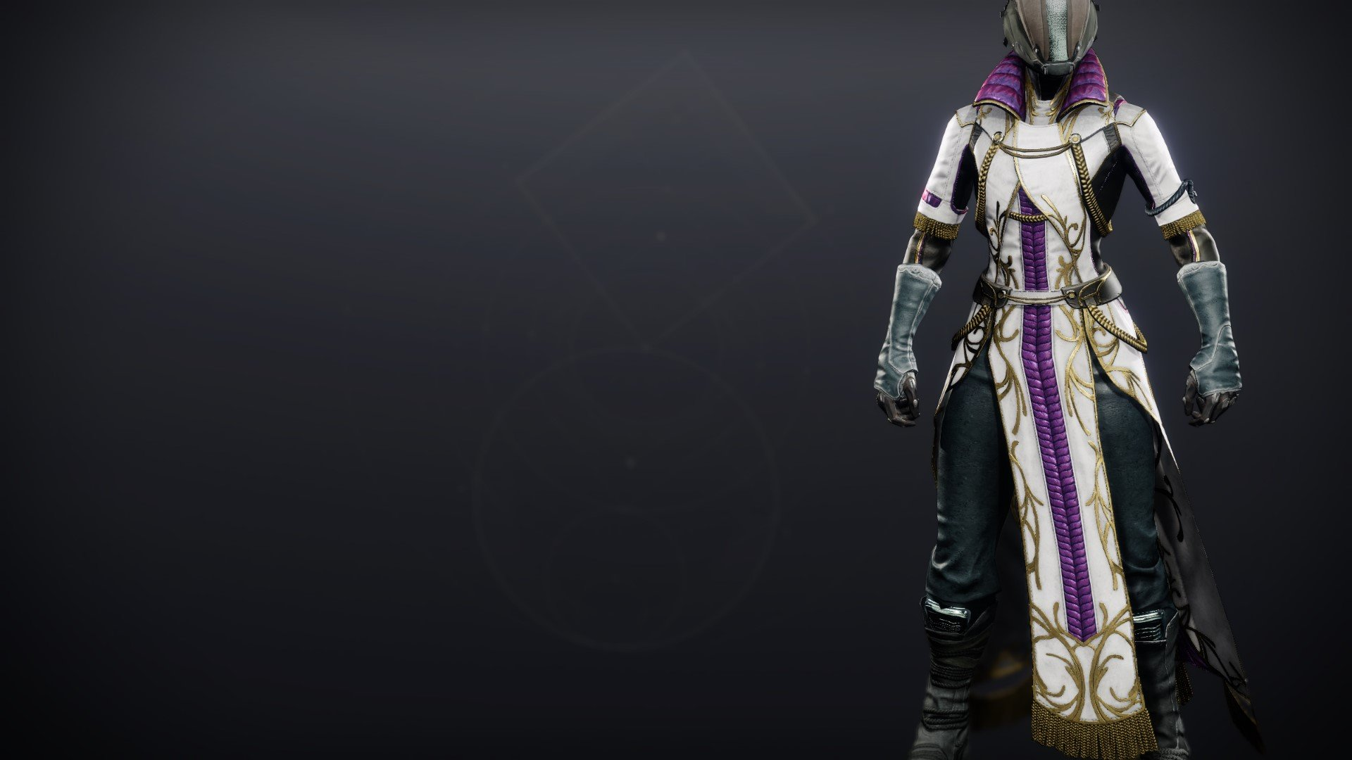 An in-game render of the Celestine Robes (Magnificent).