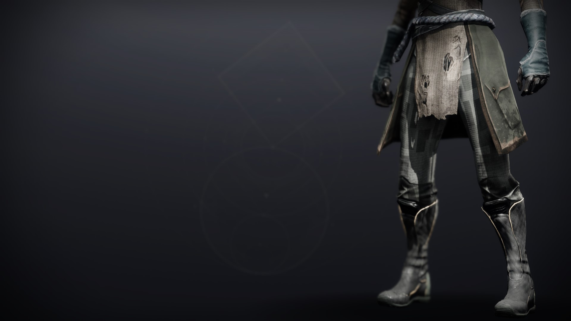 An in-game render of the Exodus Down Boots.
