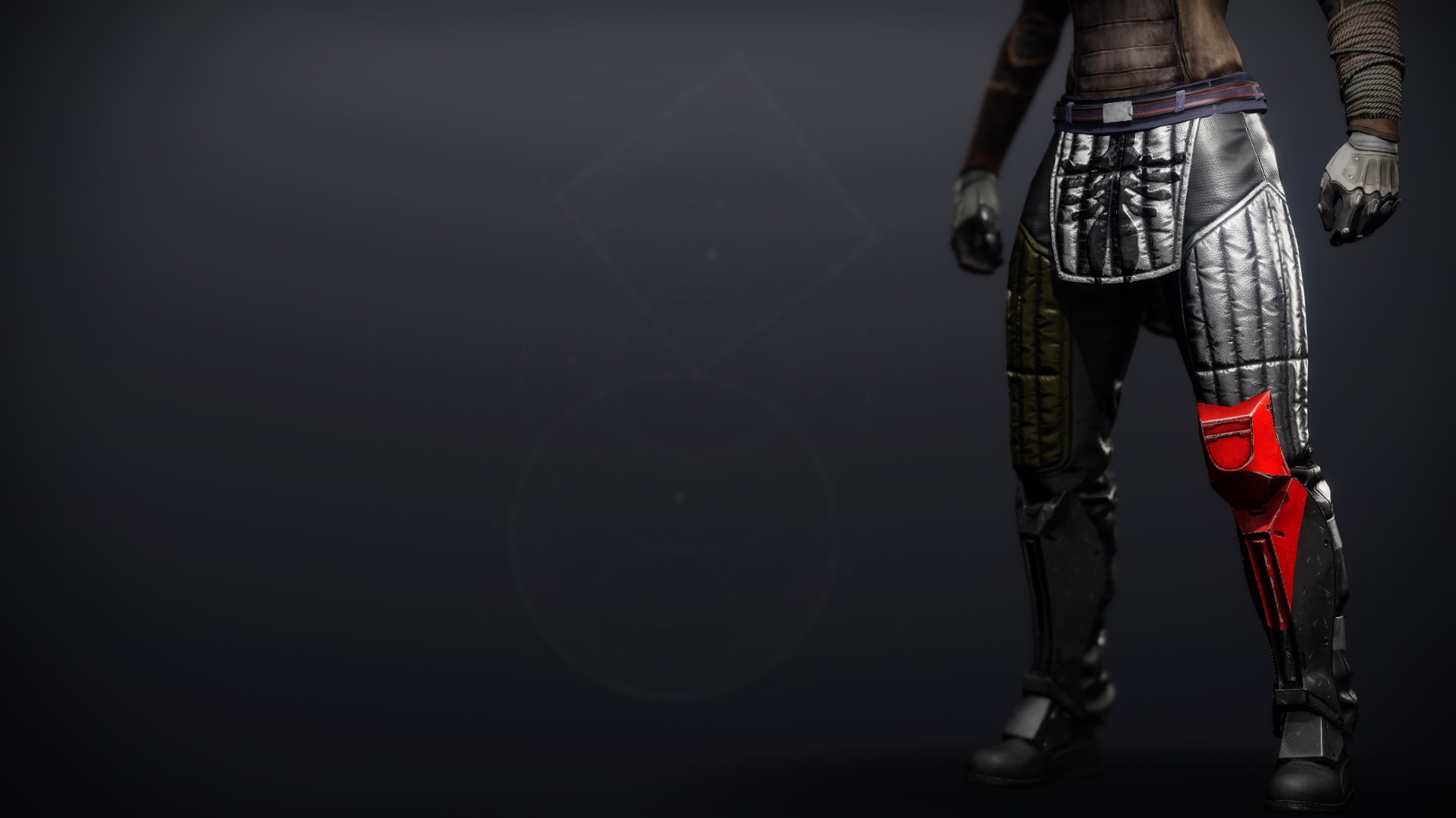 An in-game render of the Cinder Pinion Strides.