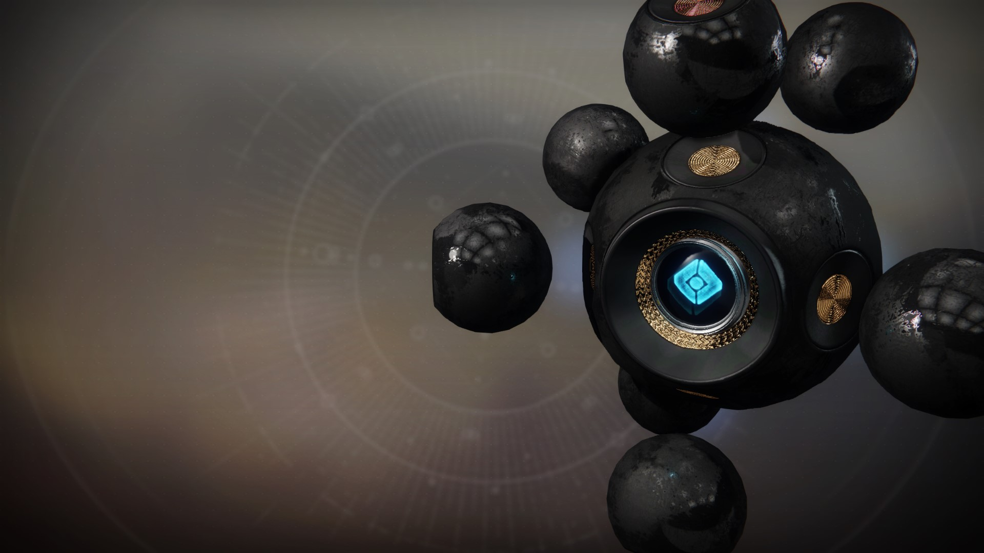 An in-game render of the Nucleus Shell.
