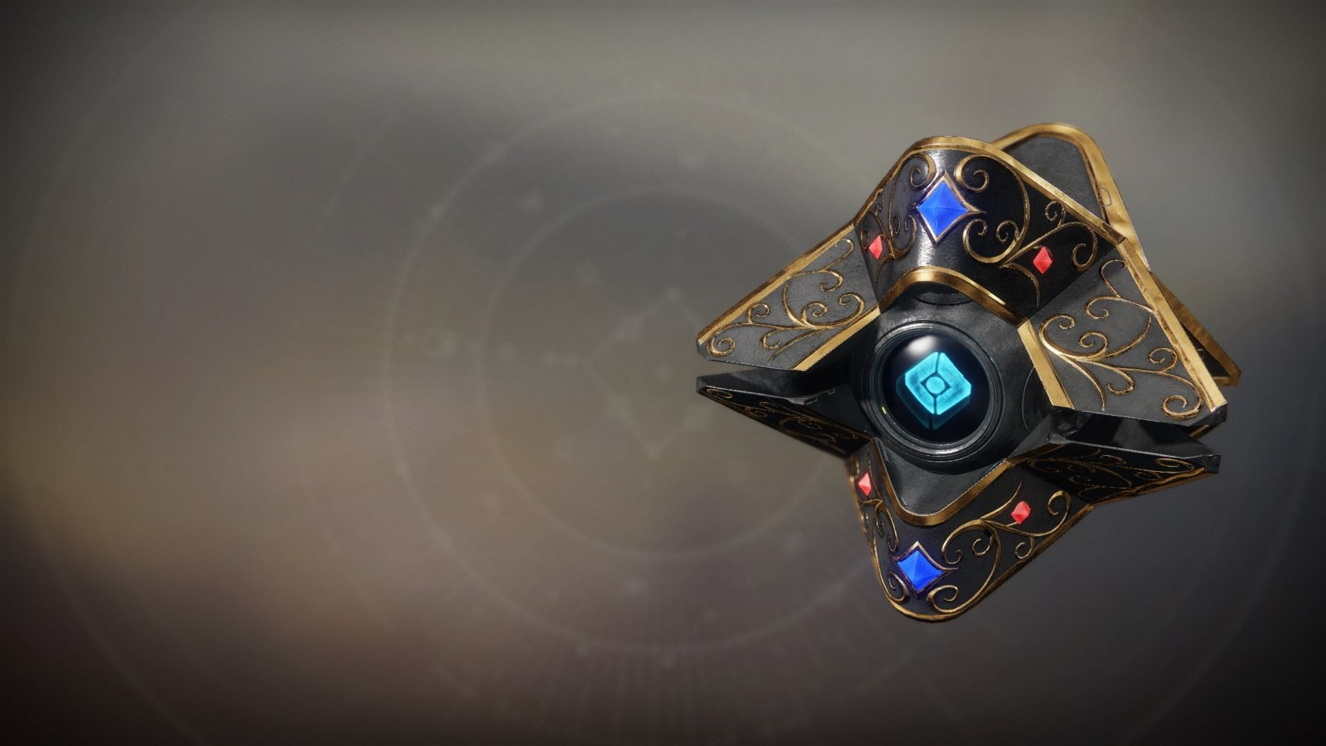 An in-game render of the Sanctified Vigilance Shell.