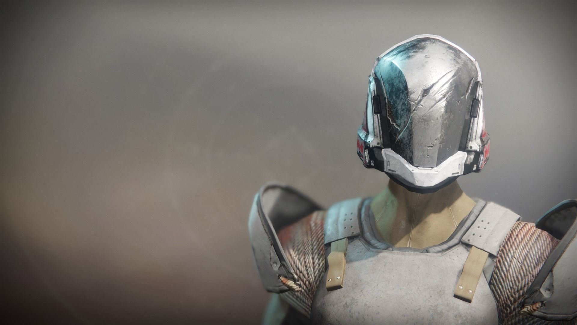 An in-game render of the Solstice Helm (Scorched).