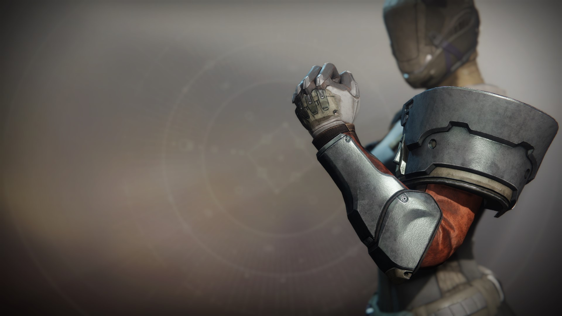An in-game render of the Ancient Apocalypse Gauntlets.