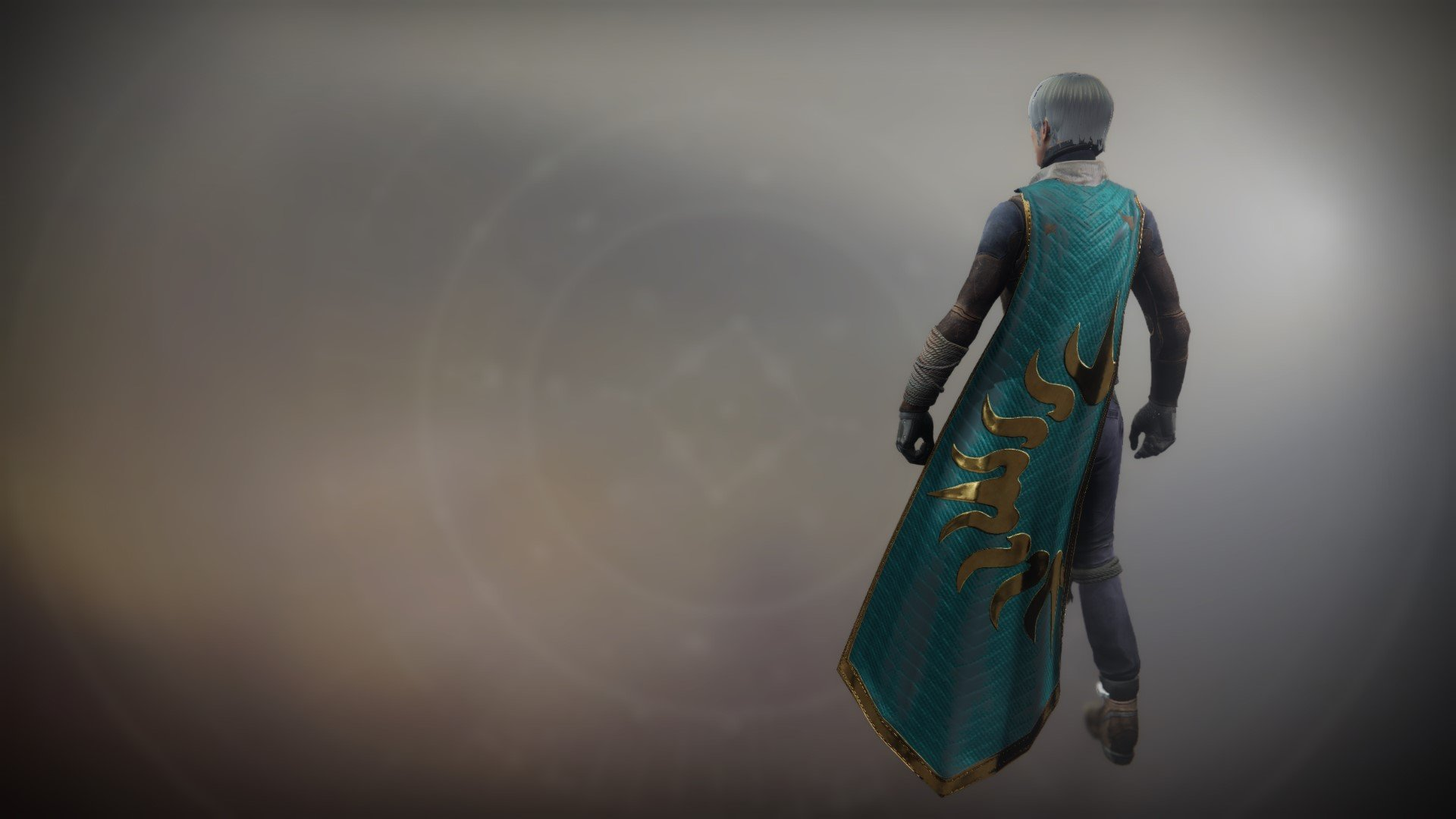 An in-game render of the Cloak of the Exile.