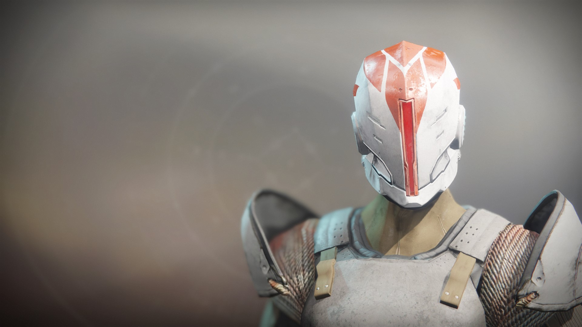 An in-game render of the Fire-Forged Titan Head Ornament.