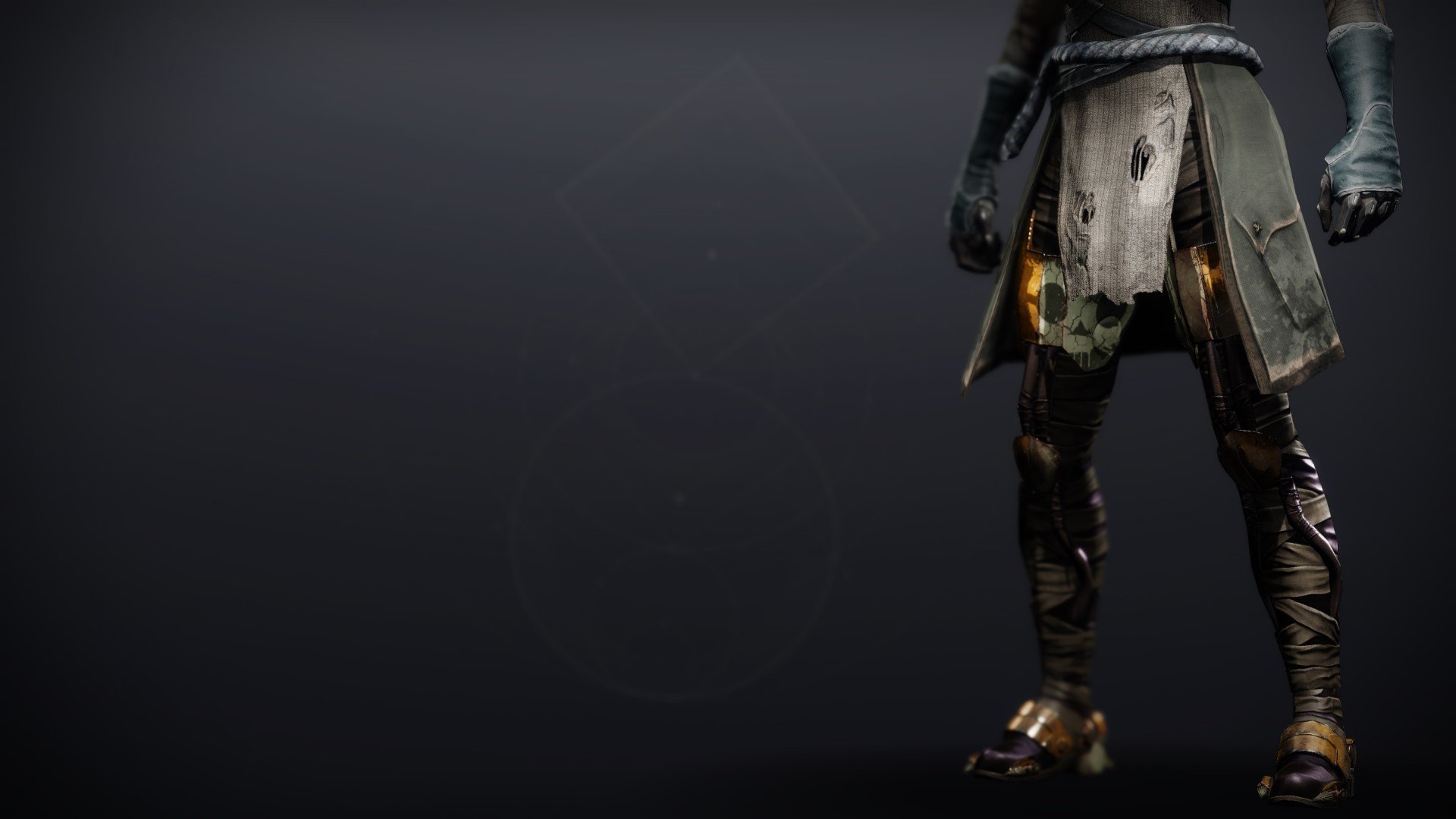 An in-game render of the Lightkin Boots.