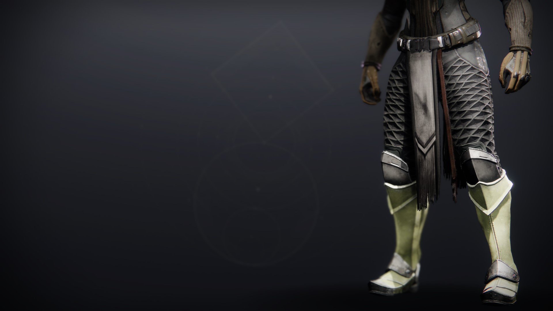 An in-game render of the Gensym Knight Greaves.