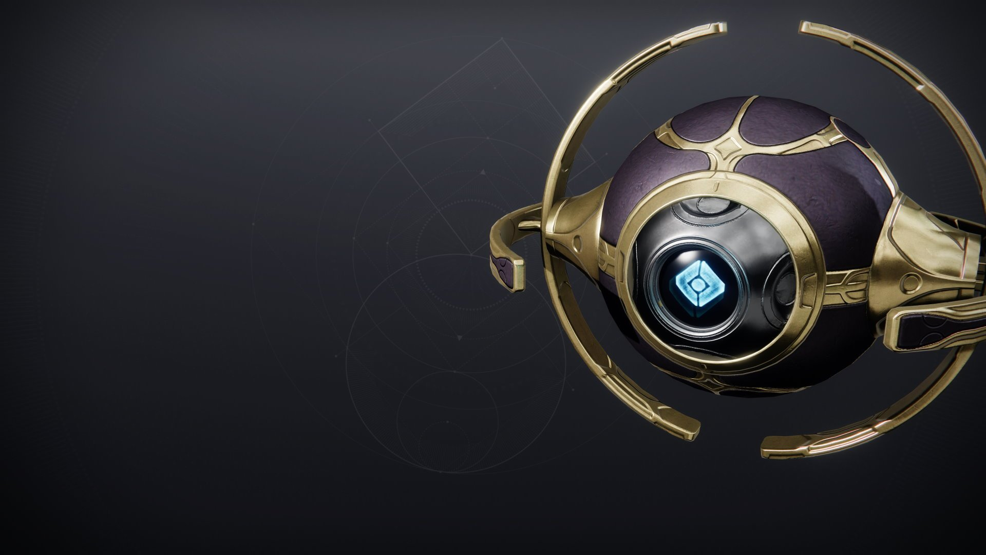 An in-game render of the Wayfinder's Shell.