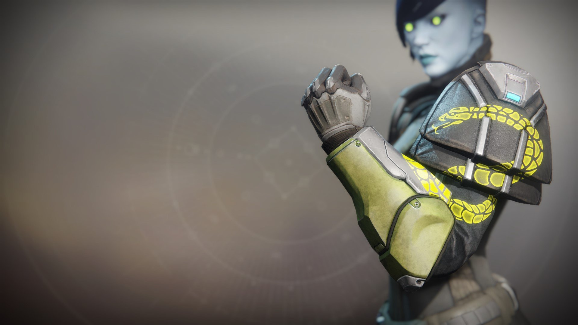 An in-game render of the Illicit Sentry Gauntlets.