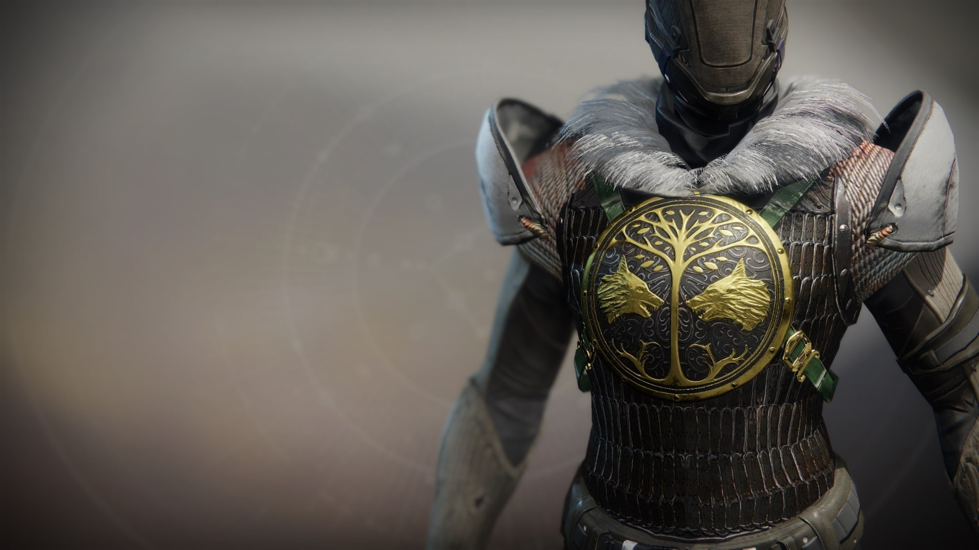 An in-game render of the Iron Truage Plate.