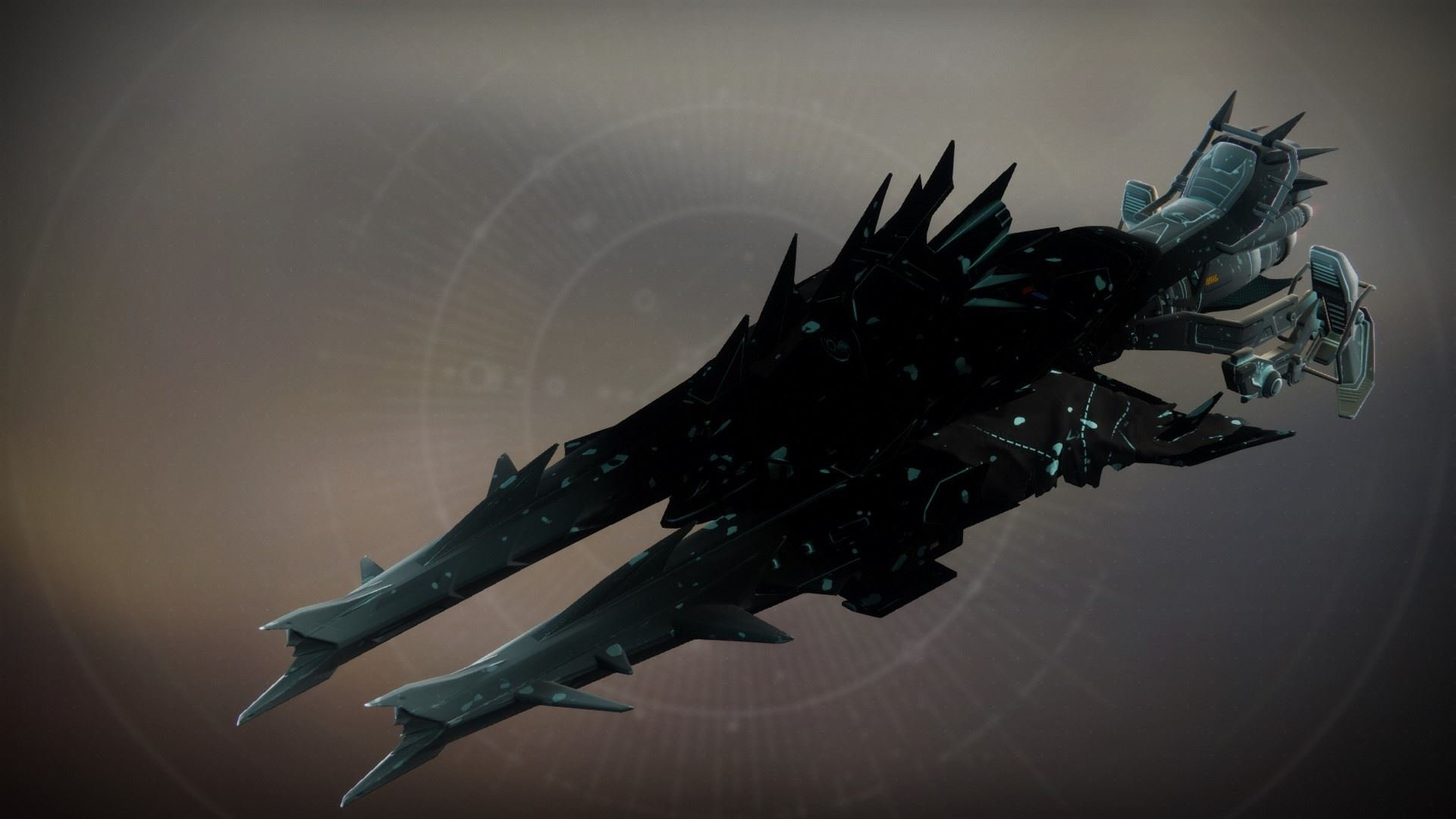 An in-game render of the Harbinger's Echo.