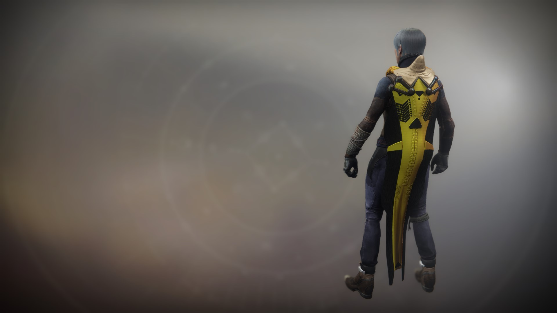 An in-game render of the Cloak of the Emperor's Agent.