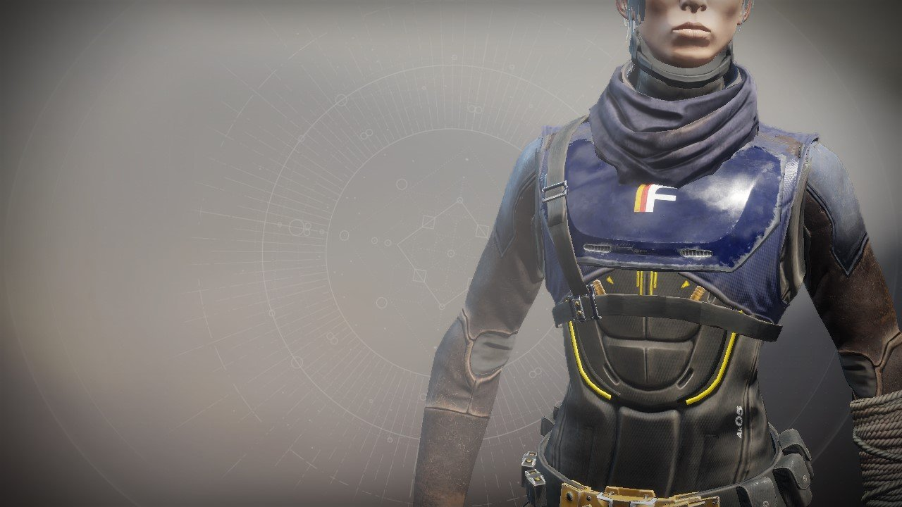 An in-game render of the Simulator Vest.