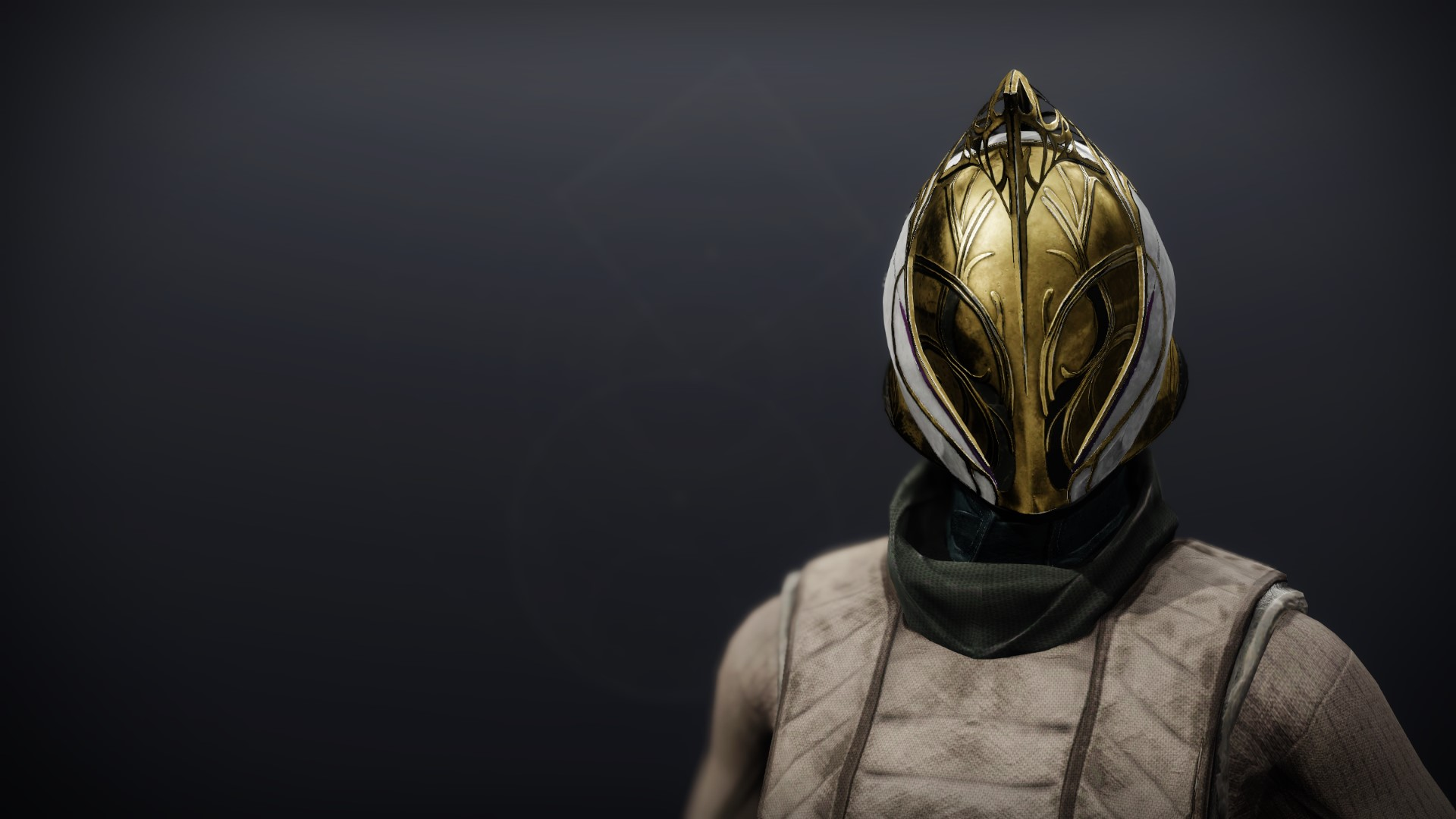 An in-game render of the Celestine Hood (Magnificent).