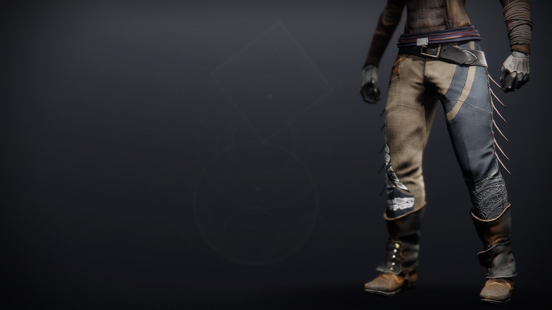An in-game render of the Illicit Collector Strides.