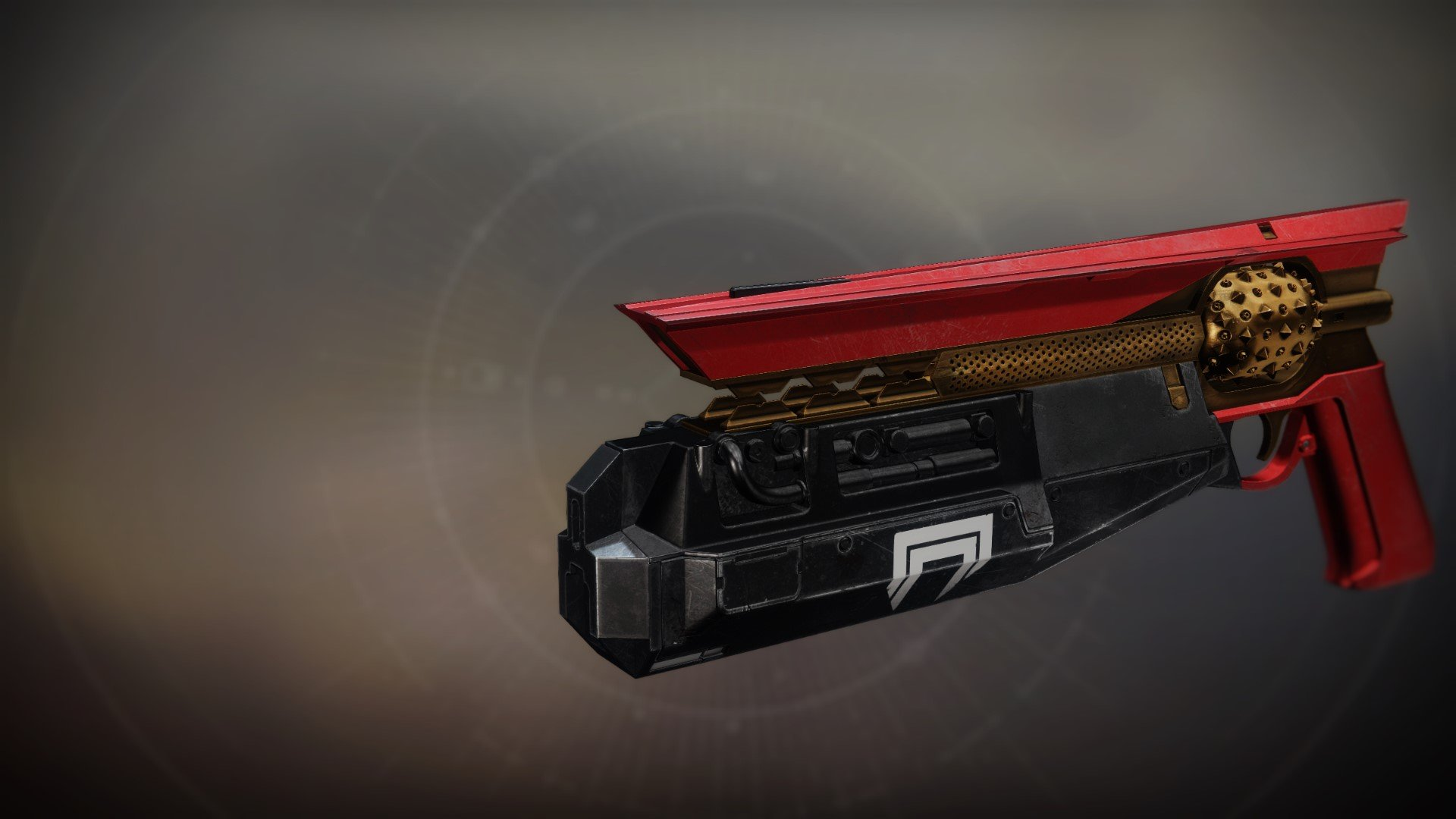 An in-game render of the Burning Red.