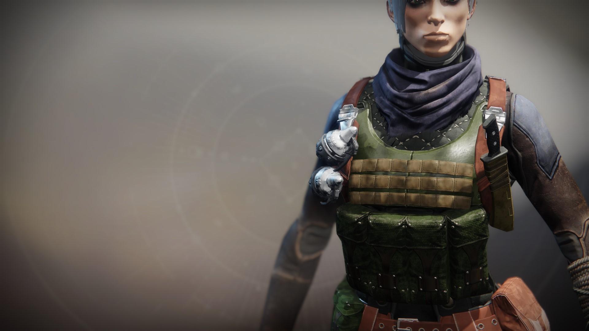An in-game render of the Wildwood Vest.