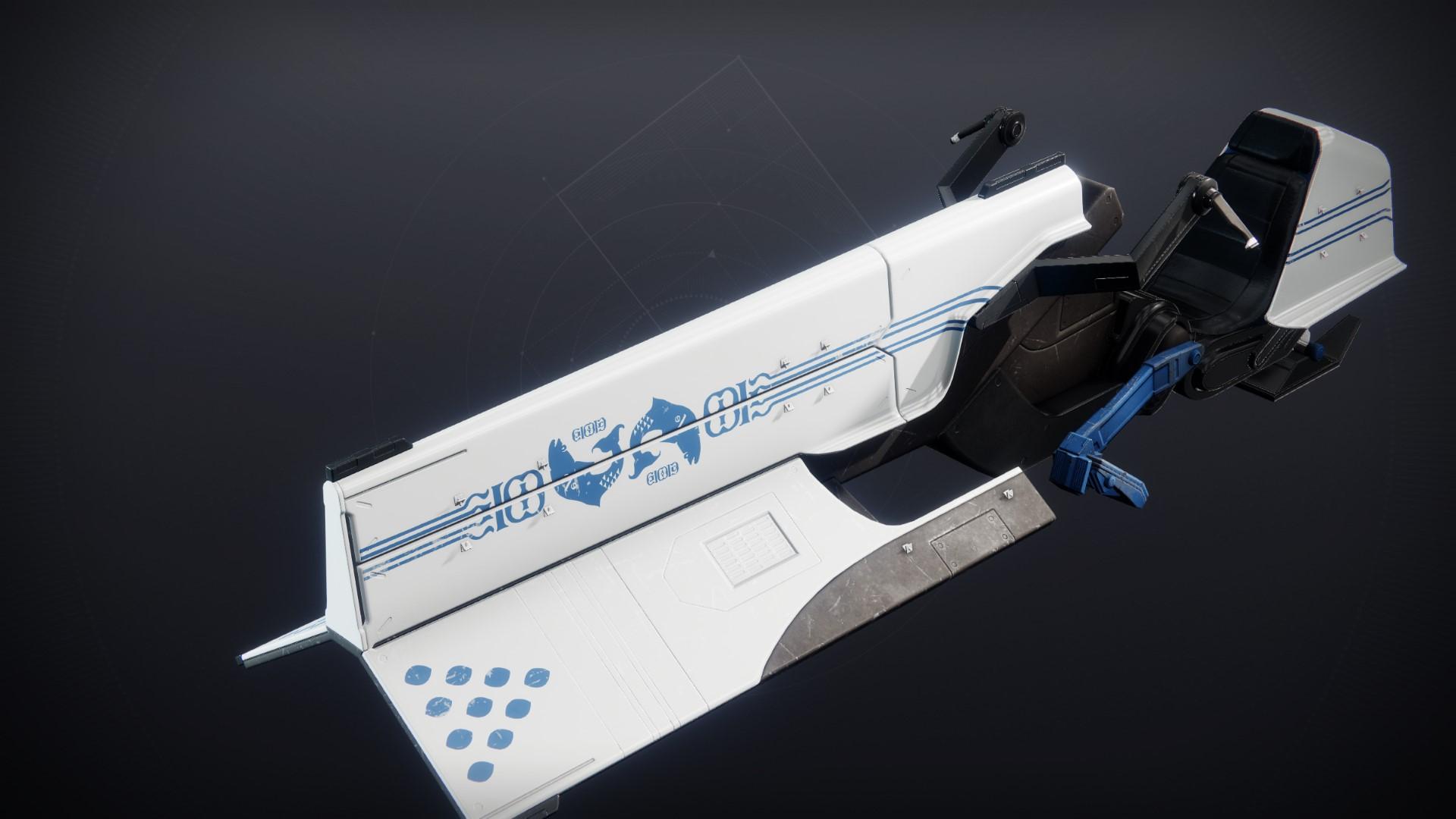 An in-game render of the Ten-Grasp Sword.