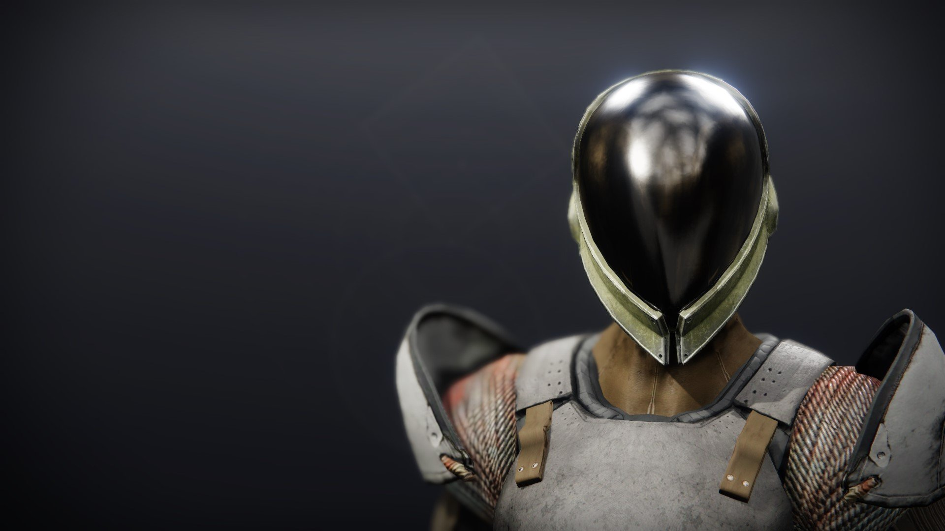 An in-game render of the Gensym Knight Helm.