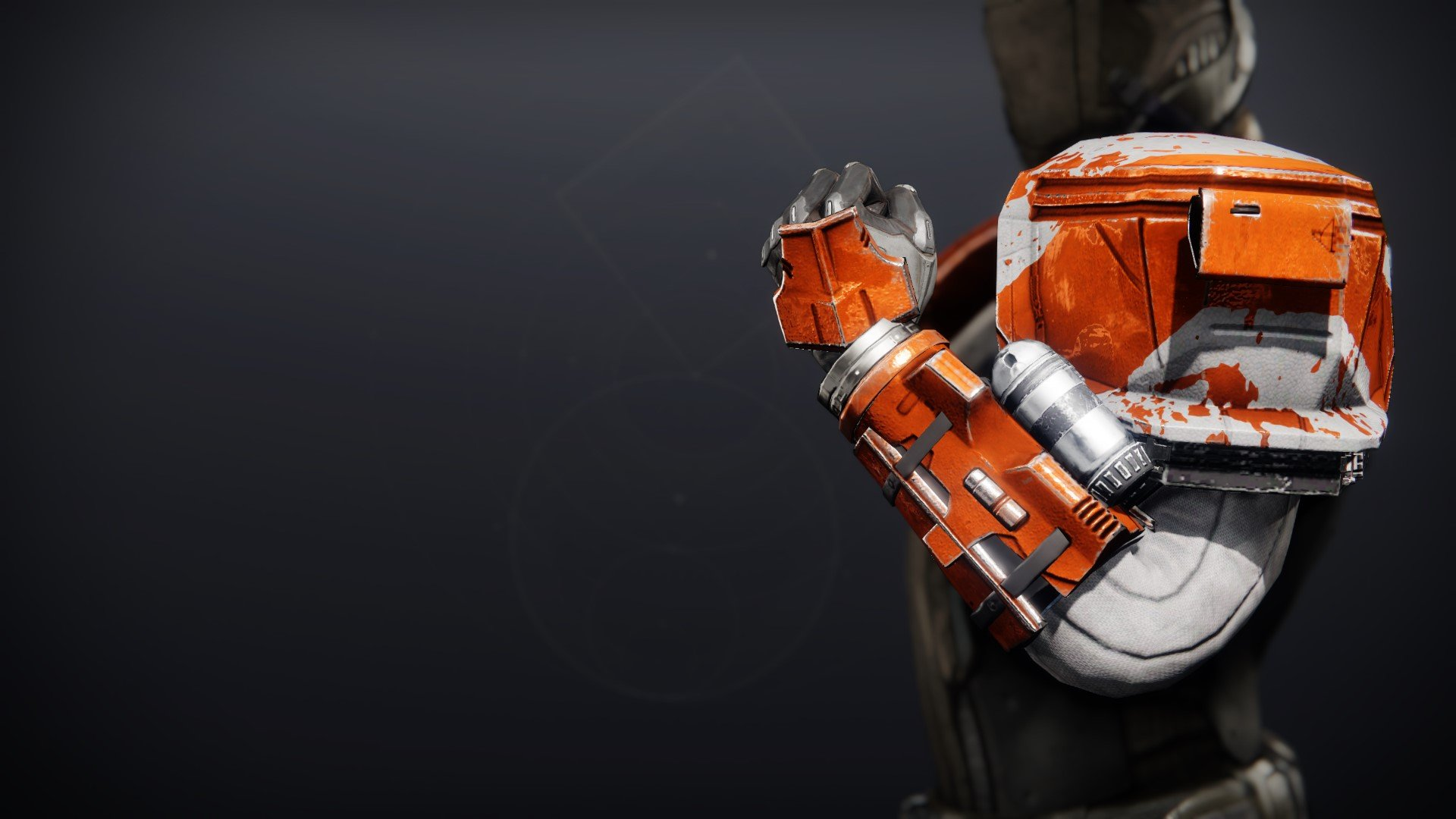 An in-game render of the Phobos Warden Gauntlets.