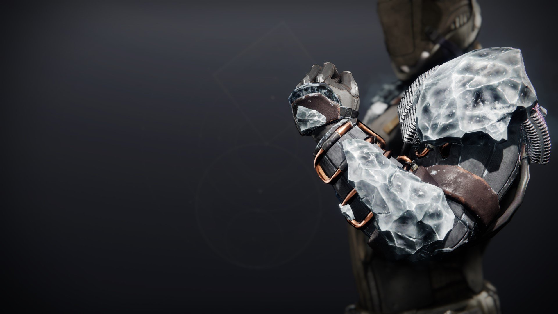 An in-game render of the Icefall Mantle.