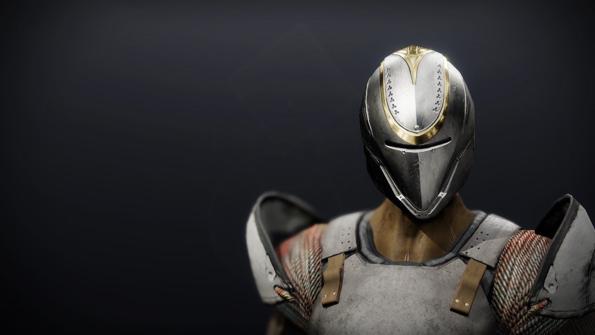 An in-game render of the Reverie Dawn Helm.