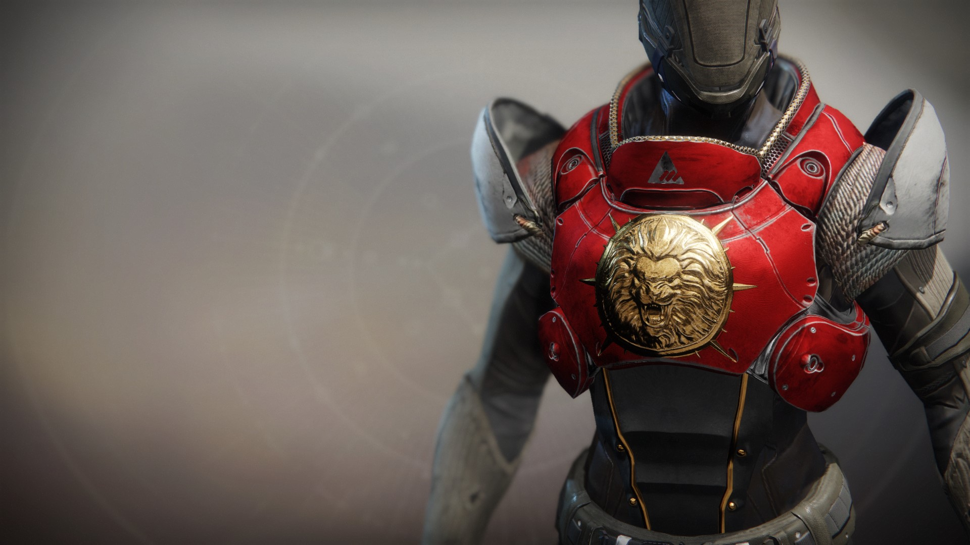 An in-game render of the Sovereign Lion Ornament.