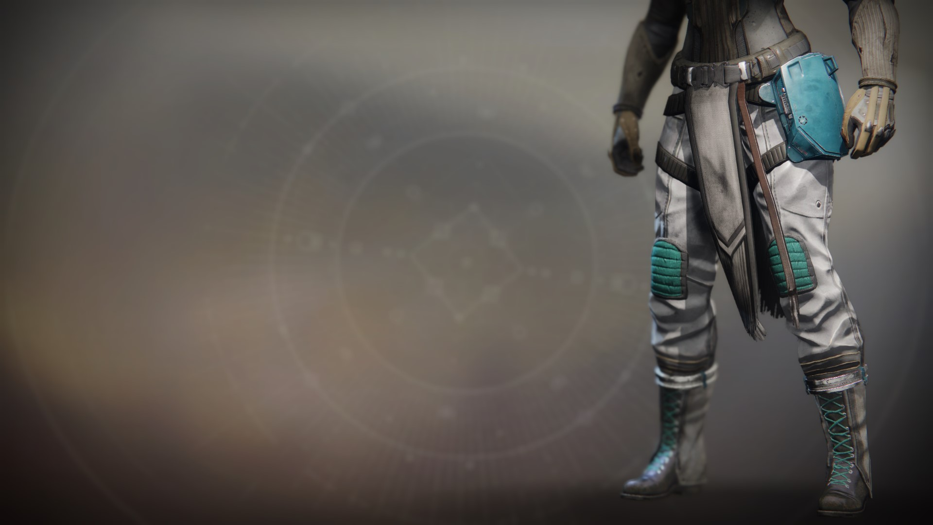 An in-game render of the Lost Pacific Greaves.
