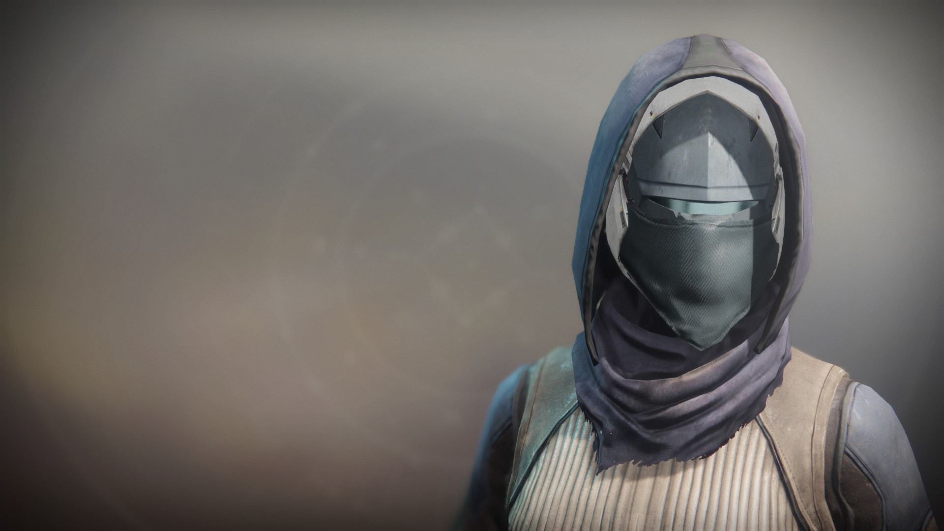 An in-game render of the Solstice Mask (Scorched).