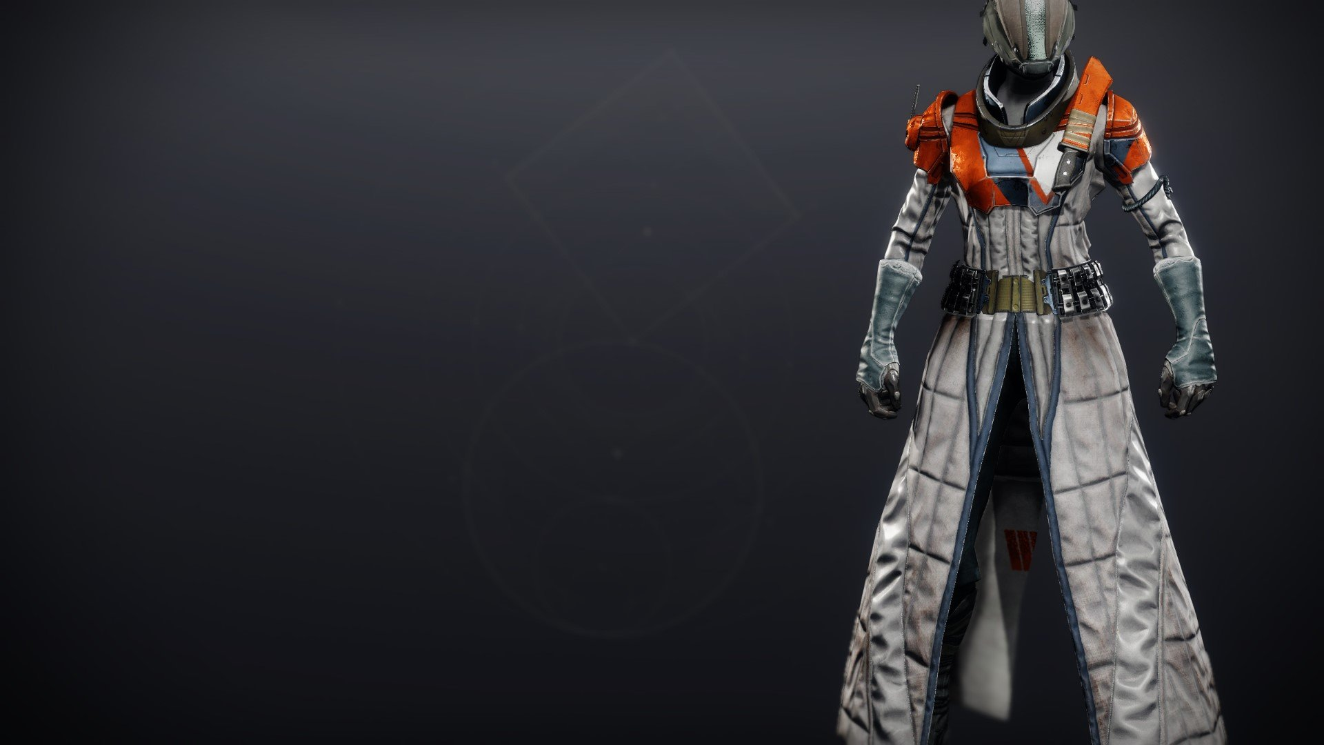 An in-game render of the Phobos Warden Robes.