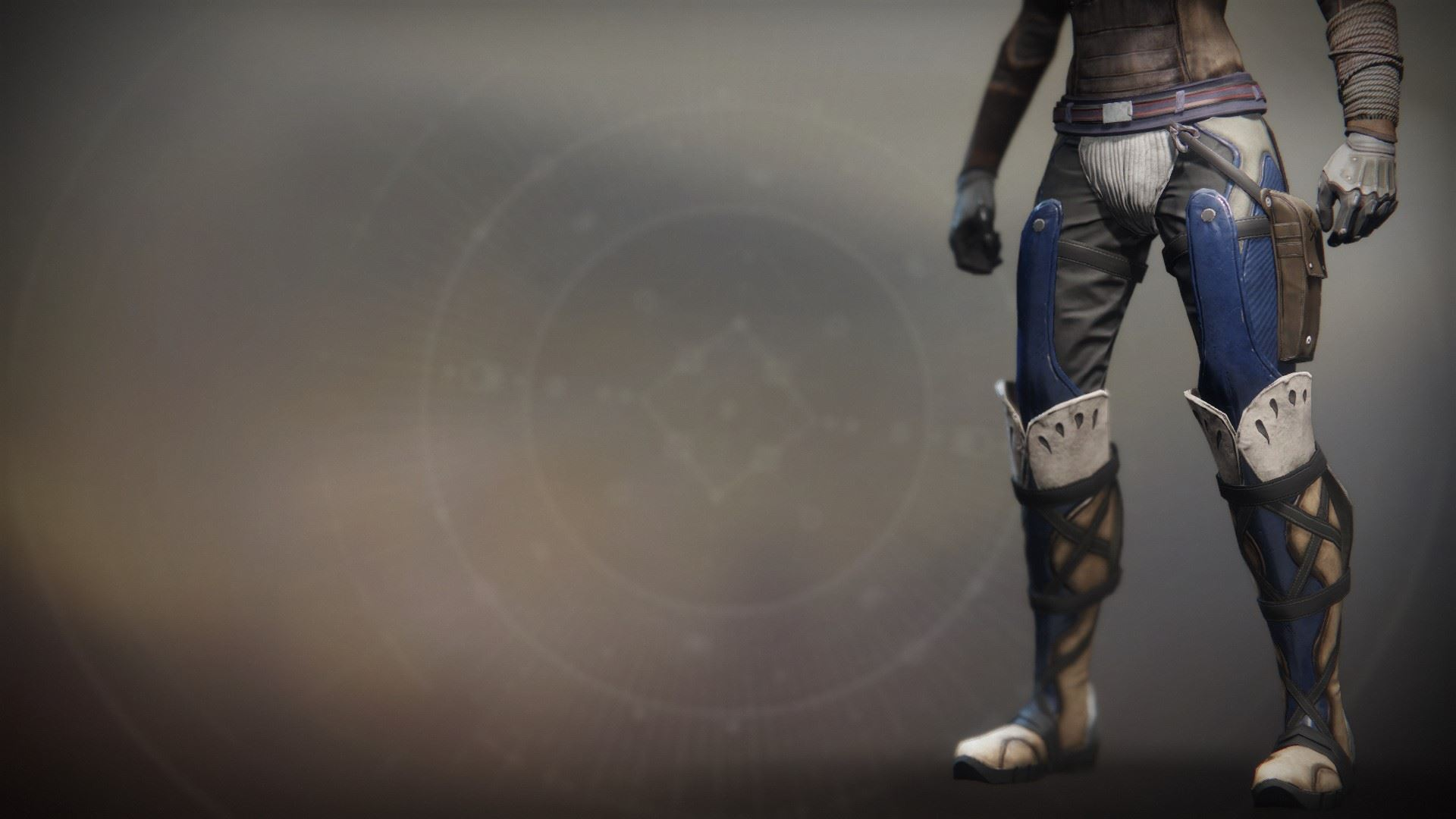 An in-game render of the Dragonfly Regalia Strides.