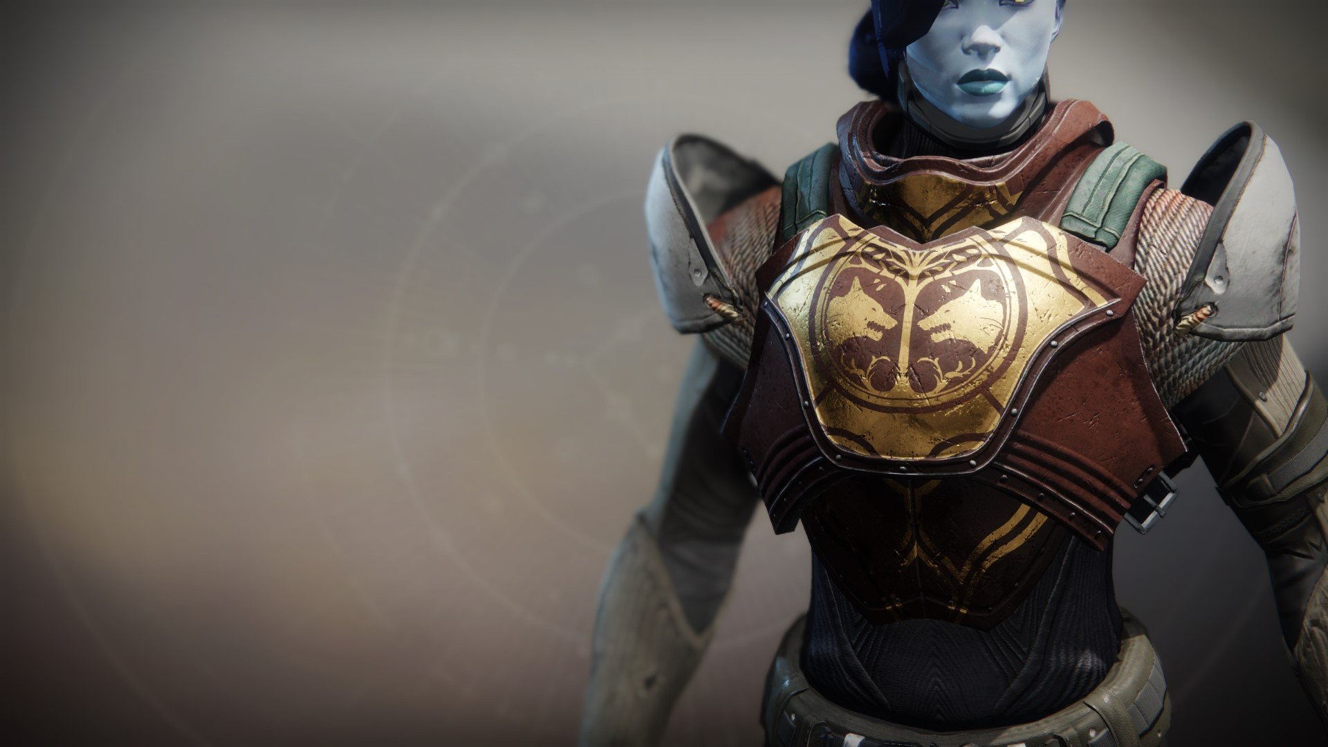 An in-game render of the Iron Fellowship Plate.