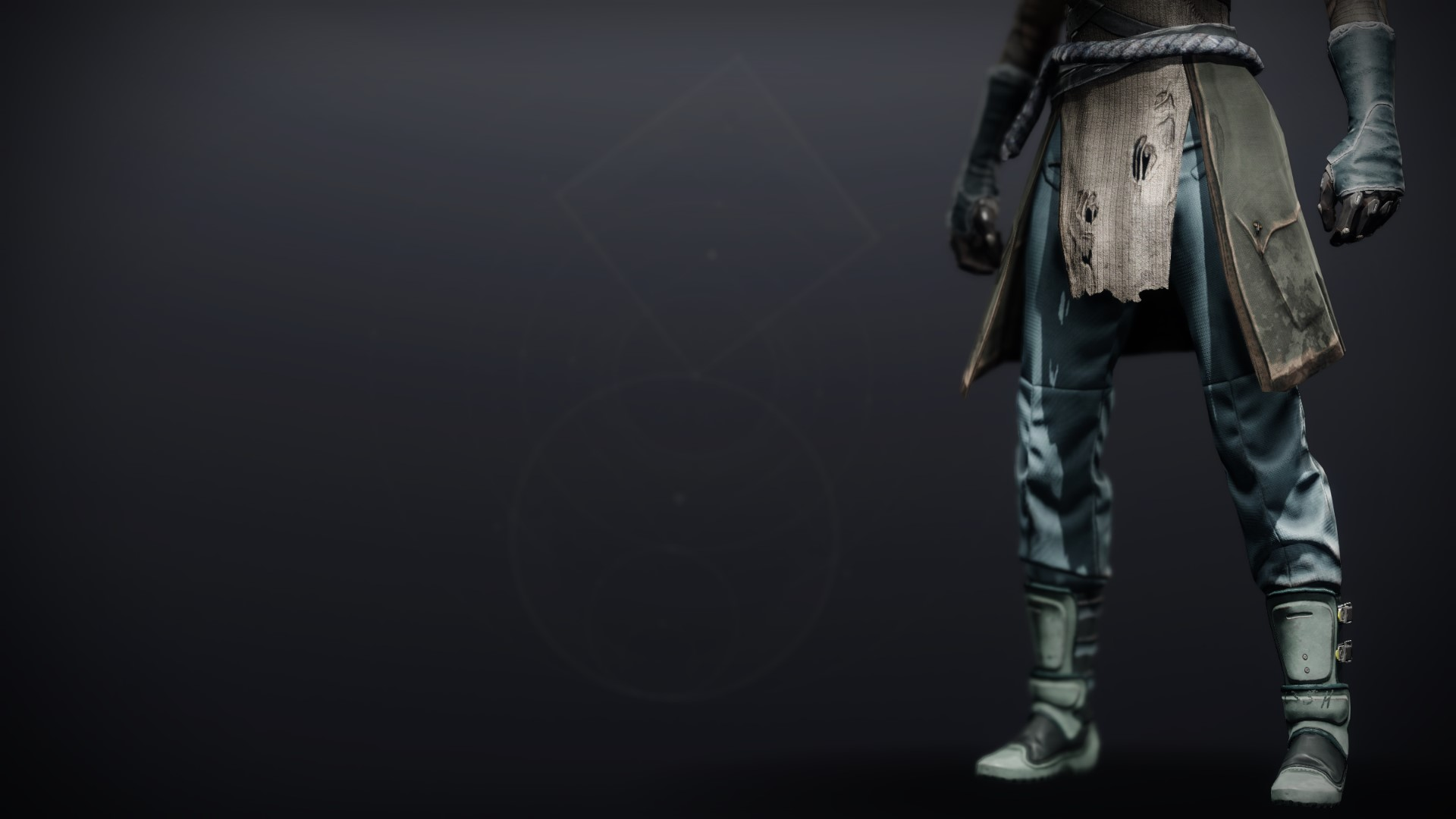 An in-game render of the Crystocrene Boots.