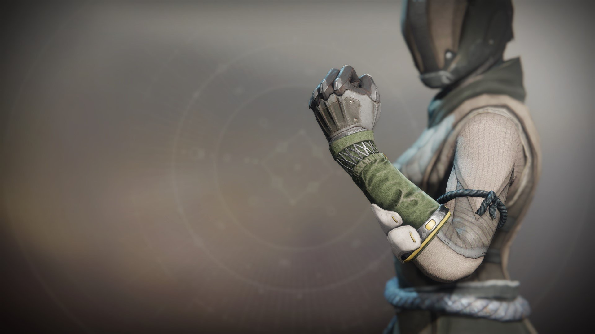 An in-game render of the Valkyrian Gloves.