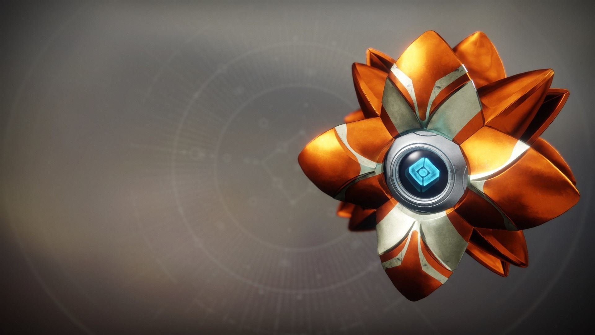 An in-game render of the Alchemical Dawn Shell.