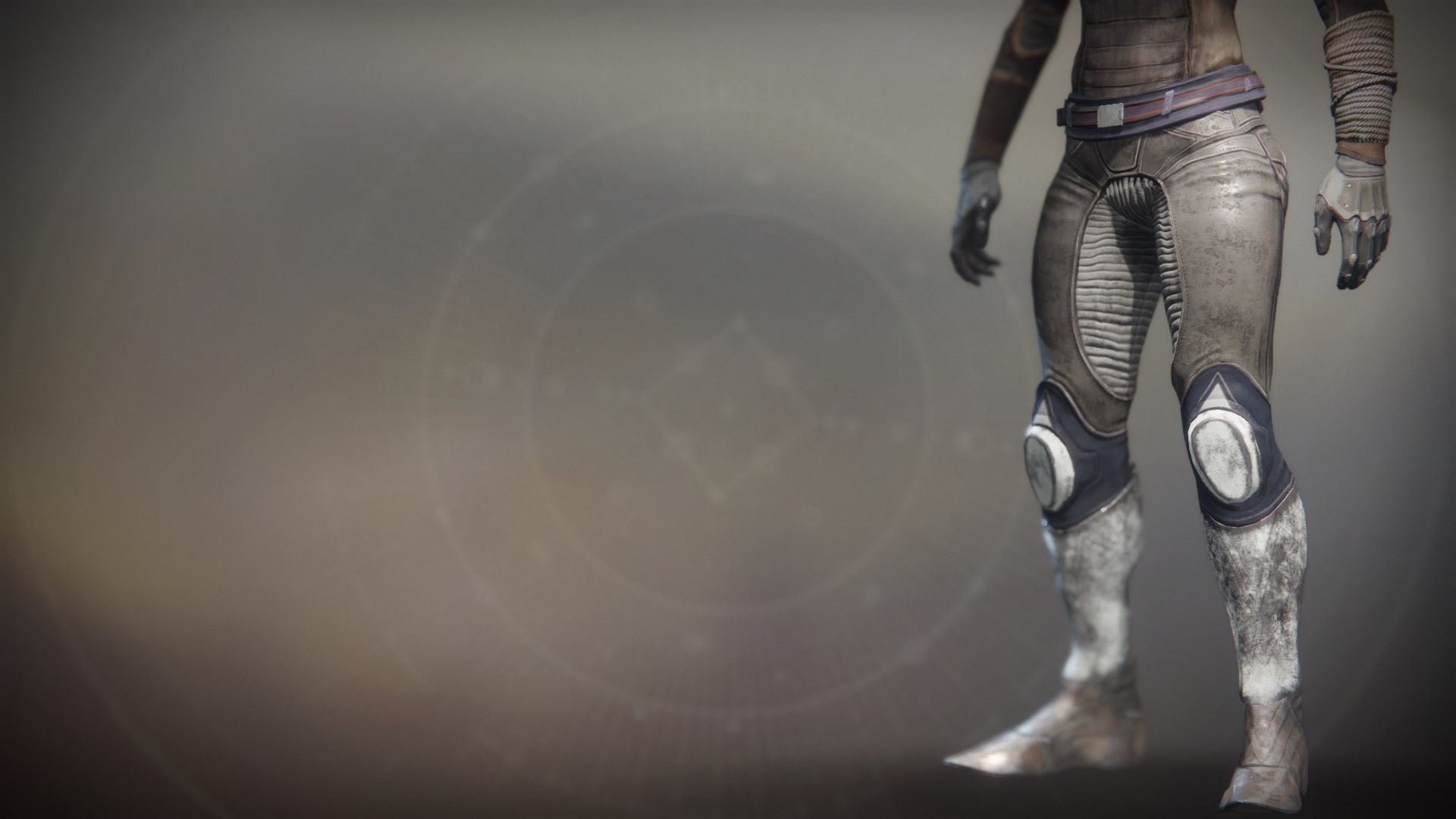An in-game render of the Solstice Strides (Rekindled).